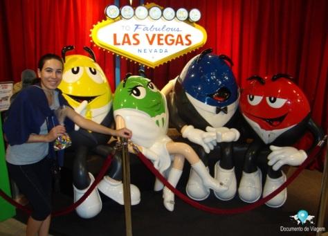 Loja M&Ms em Las Vegas
