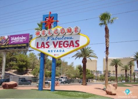 "Placa: ""Welcome to Fabulous Las Vegas"""