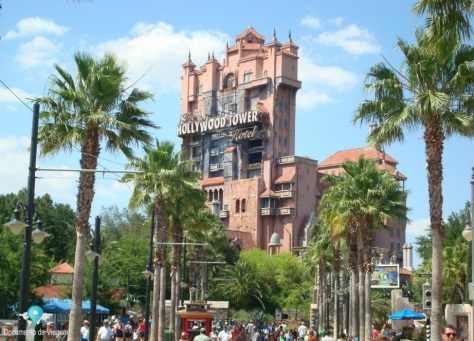 The Hollywood Tower - Disney's Hollywood Studios