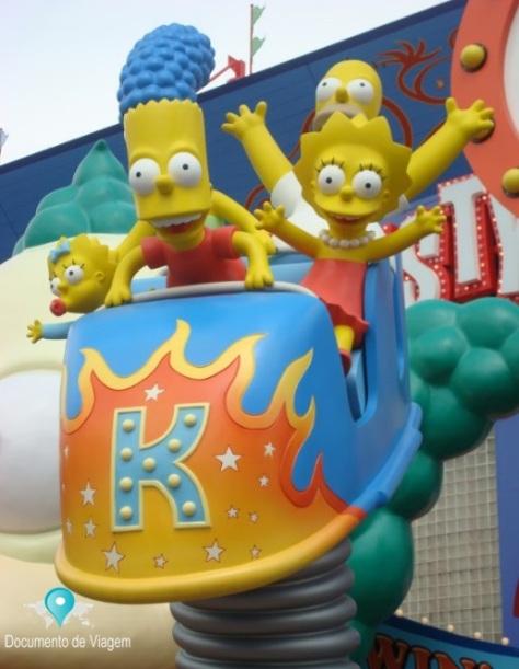 Universal Studios Orlando - The Simpsons Ride