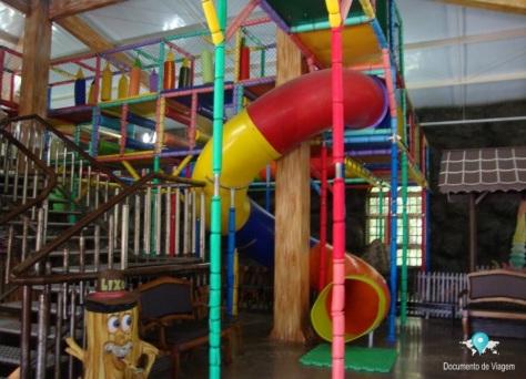 Castelo medieval + playground