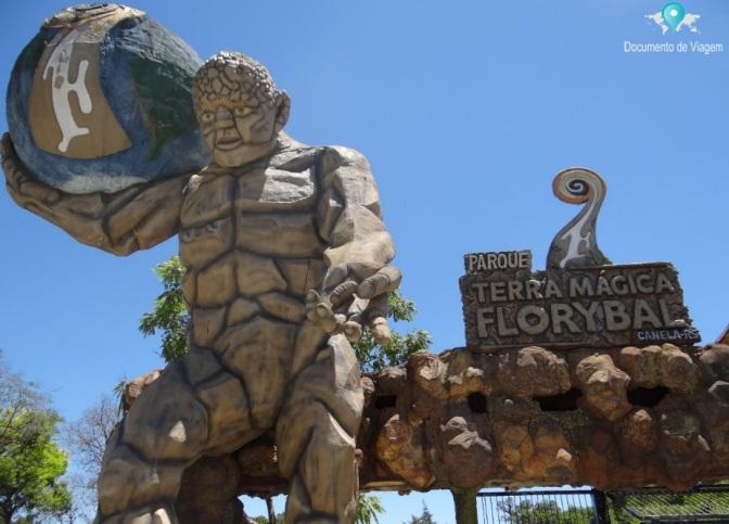 Conheça o Parque Terra Mágica Florybal em Canela