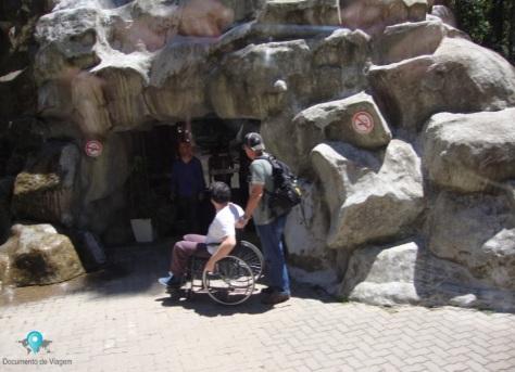 Acessibilidade - Vale dos Dinossauros