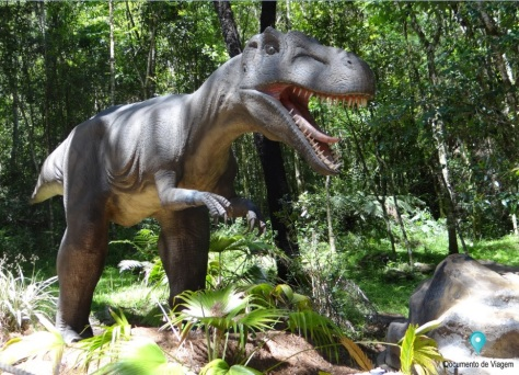 Tiranossauro Rex - Vale dos Dinossauros