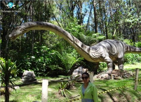 Mamenchissauro - Vale dos Dinossauros