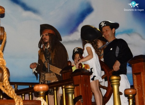 Jack Sparrow do Piratas do Caribe