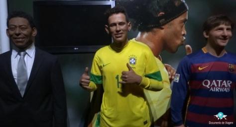 Pelé, Neymar e Messi
