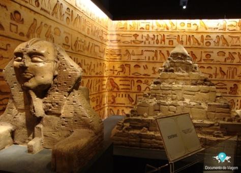 Esfinge e as pirâmides do Egito