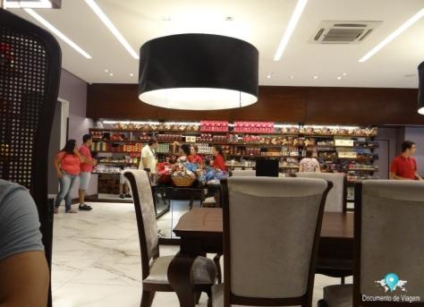 Café e loja