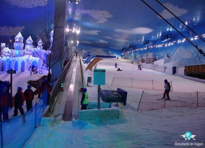 Pista de esqui - Snowland