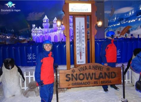 Montanha de Neve - Snowland