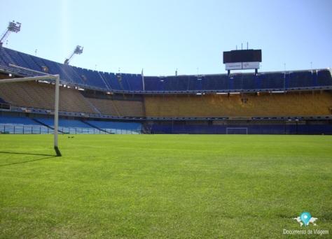 O estádio de Futebol do Boca Juniors - La Bombonera