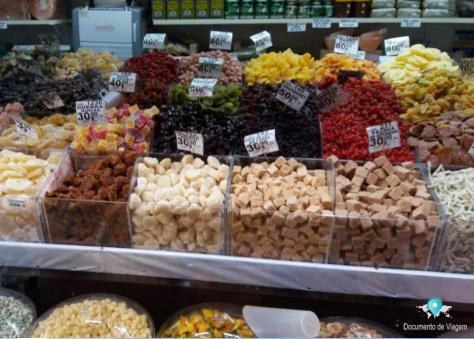 Mercadão de São Paulo - Doces e frutas secas