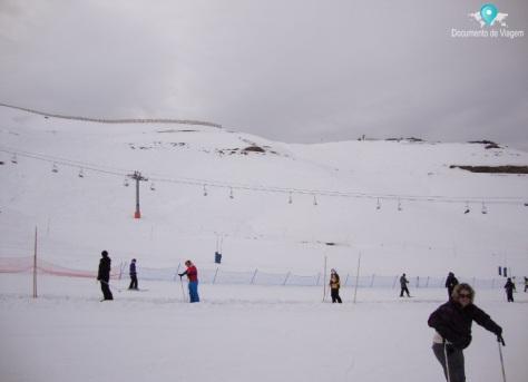 Escola de neve - Valle Nevado