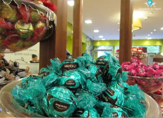 Cacau Show e Fábrica de Chocolate Araucária em Campos do Jordão