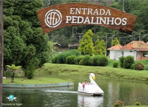 Pedalinhos no Parque de Capivari