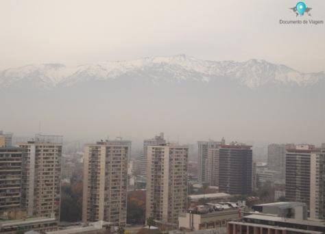 Cerro Santa Lucía - Vista de Santiago