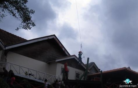 Tirolesa - Ducha de Prata