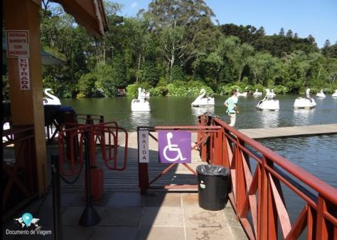 Acessibilidade no Lago Negro em Gramado