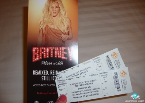 Britney Spears no Hotel Planet Hollywood (Teatro The Axis)