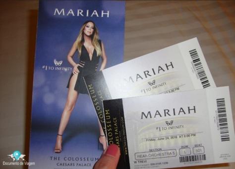 Mariah Carey no Hotel Caesars Palace