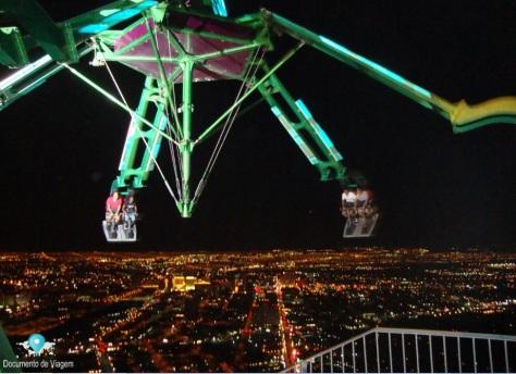 Insanity no Hotel Stratosphere em Las Vegas