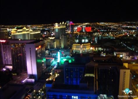 Las Vegas toda iluminada