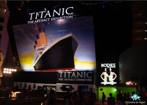 Titanic The Artifact Exhibition em Las Vegas