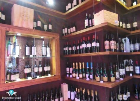 Loja de souvenir: Vinhos