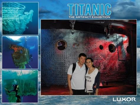 Titanic: The Artifact Exhibition em Las Vegas