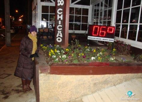 Monte Verde 06º graus no final do mês de junho