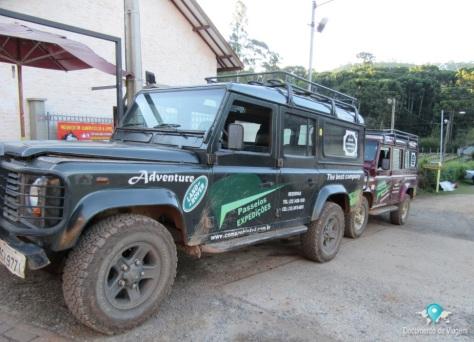 Passeios de Land Rover